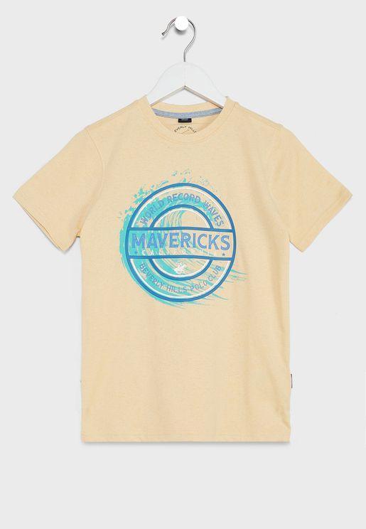 Kids World Record Waves T-Shirt