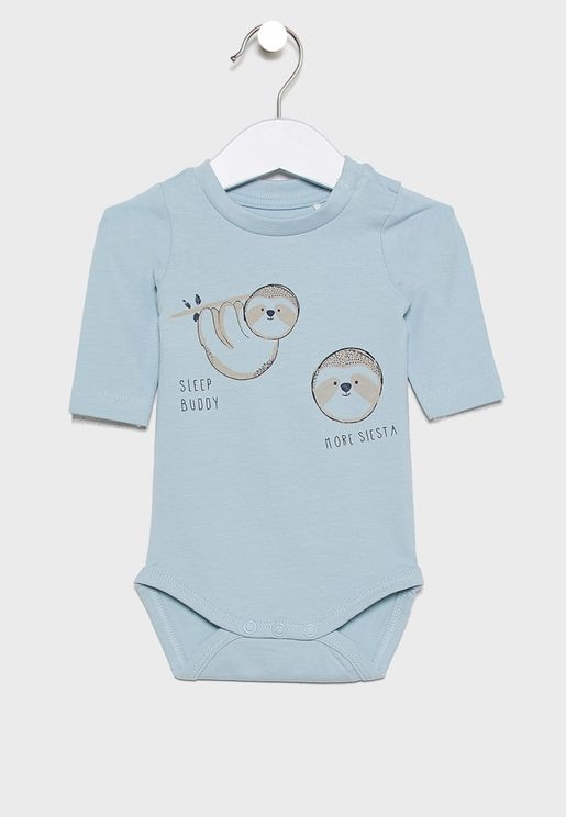 Infant Embroidered Bodysuit