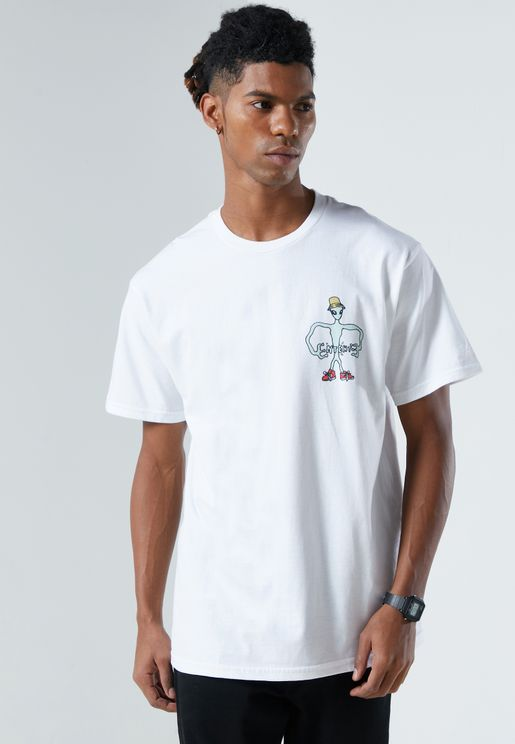 Alien Printed T-Shirt