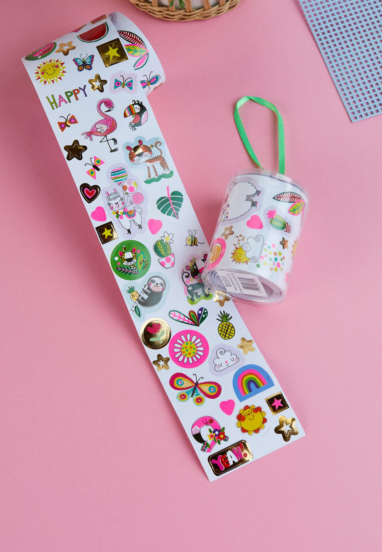Rolls Of Stickers - Tropical Adventure