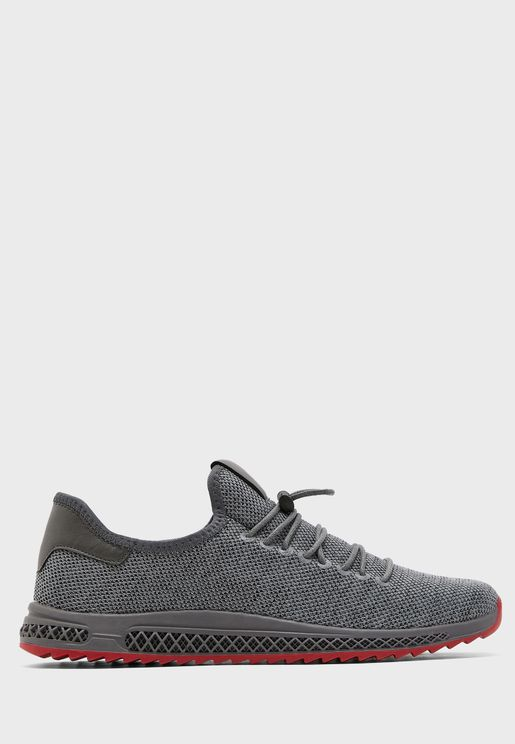 Casual Toggle Lace Sneakers