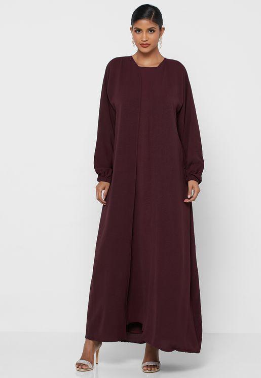 Dress With Abaya