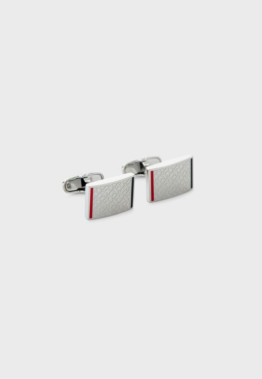 Log Square Cufflinks