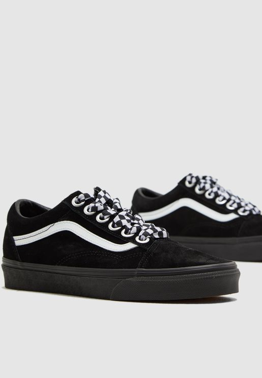 Check Lace Old Skool