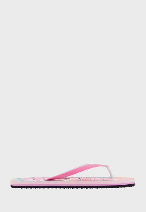 Casual Printed Flip Flops