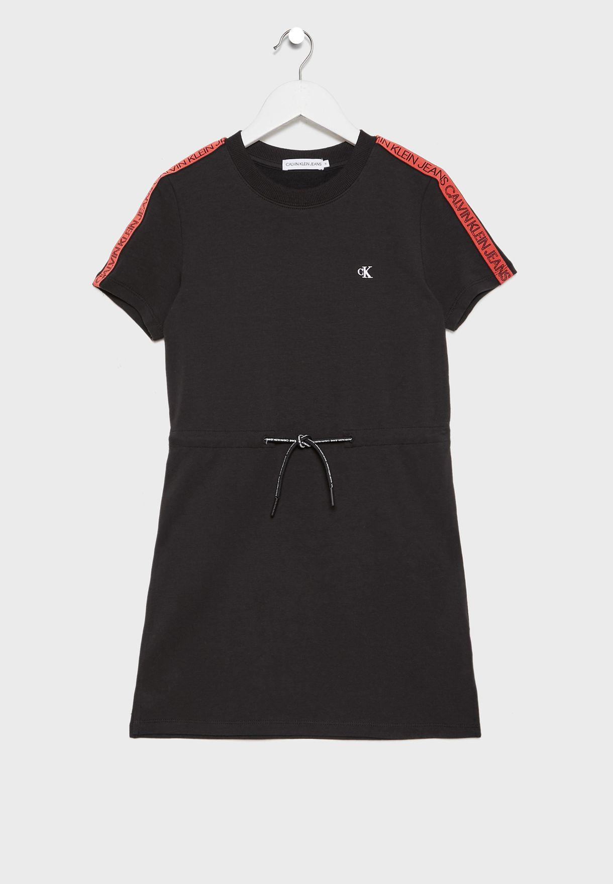 Kids Logo Printed Dress