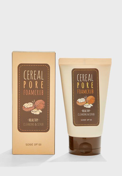 Cereal Pore Foamcrub