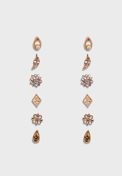 Melidda Pierced Earrings Set