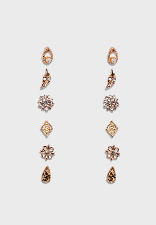 Melidda Pierced Earrings Set