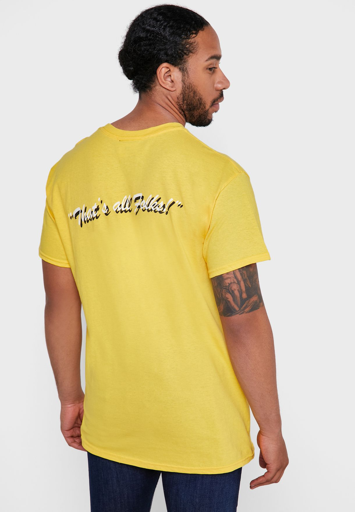 Bugs Bunny That's All Folks T-Shirt