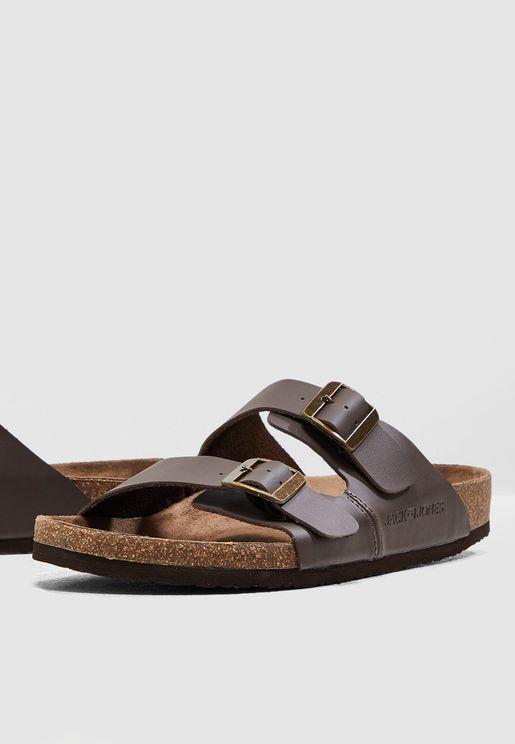 Croxton Drop Strap Sandals