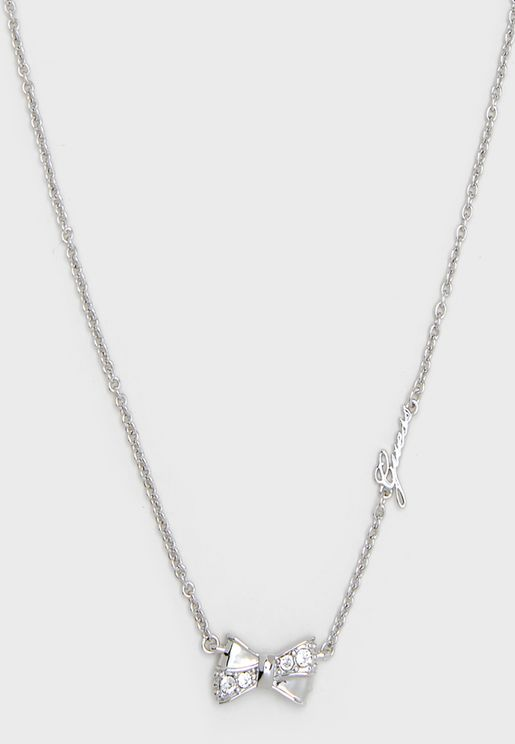 Guess Bow Necklace
