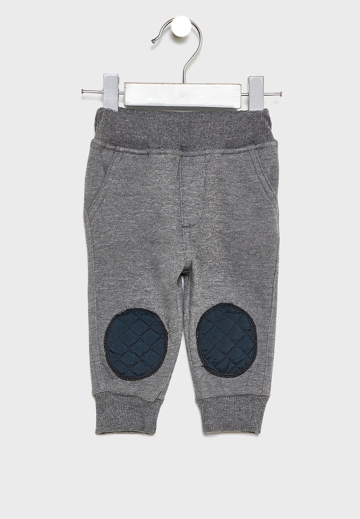 Kids Quilted Pocket Detail Sweatshirt + Sweatpants