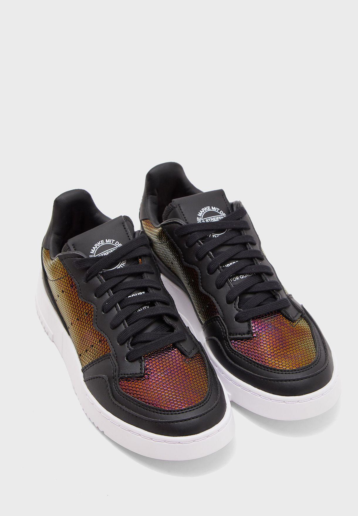 comprar lo mejor producto caliente apariencia estética Shop adidas Originals black Supercourt EG2012 for Women in ...