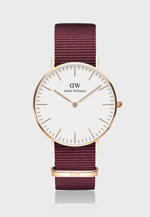 Classic Roselyn White 36mm Watch