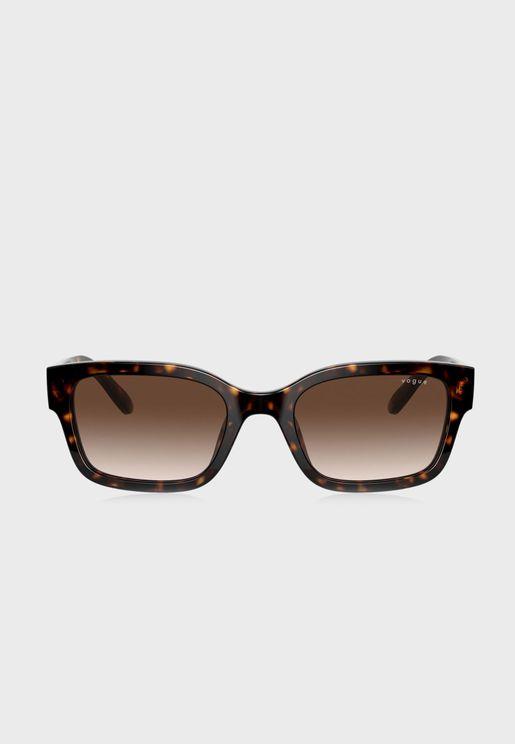 0Vo5357S Oversized Sunglasses