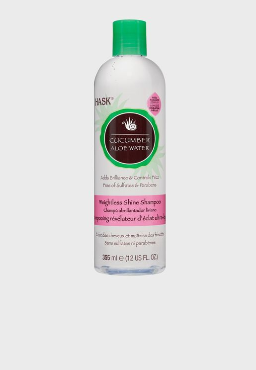 Cucumber Aloe Water Shine Shampoo