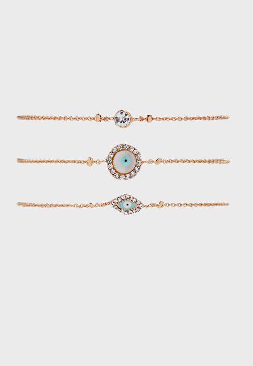Raffles Bracelets Set