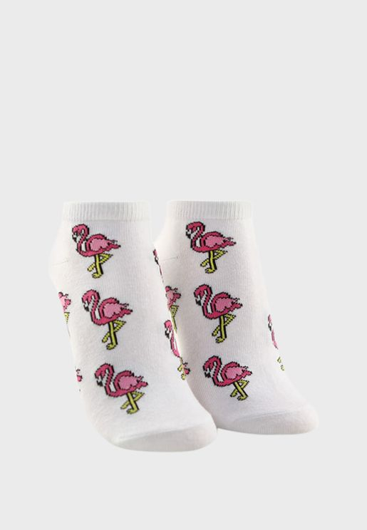 Printed Ankle Socks
