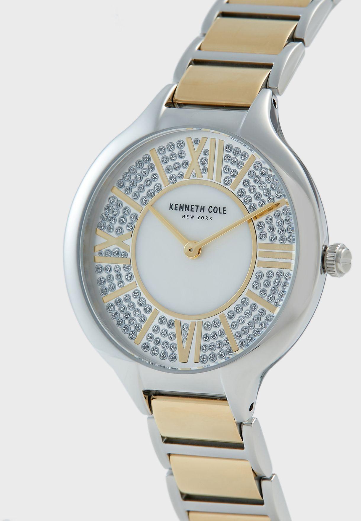 KC51011003 Steel Strap Analog Watch