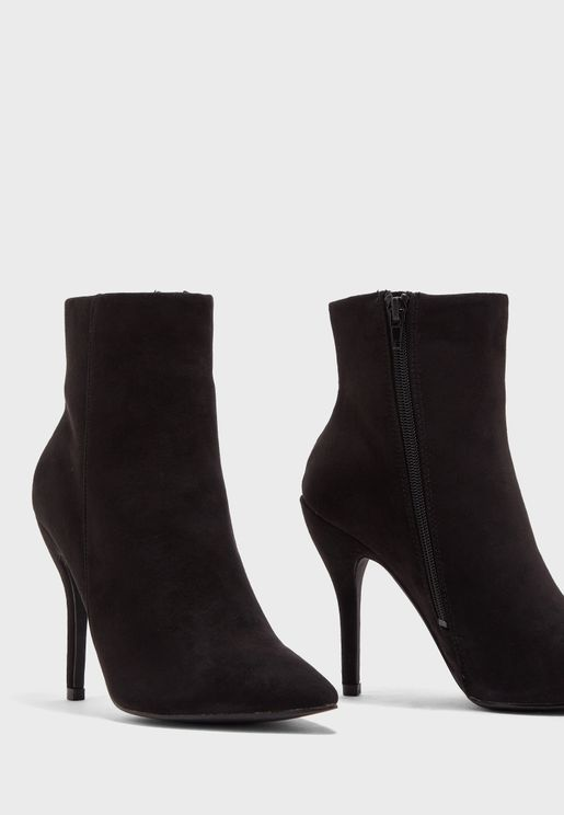 Alicia Pointed Toe Ankle Boot