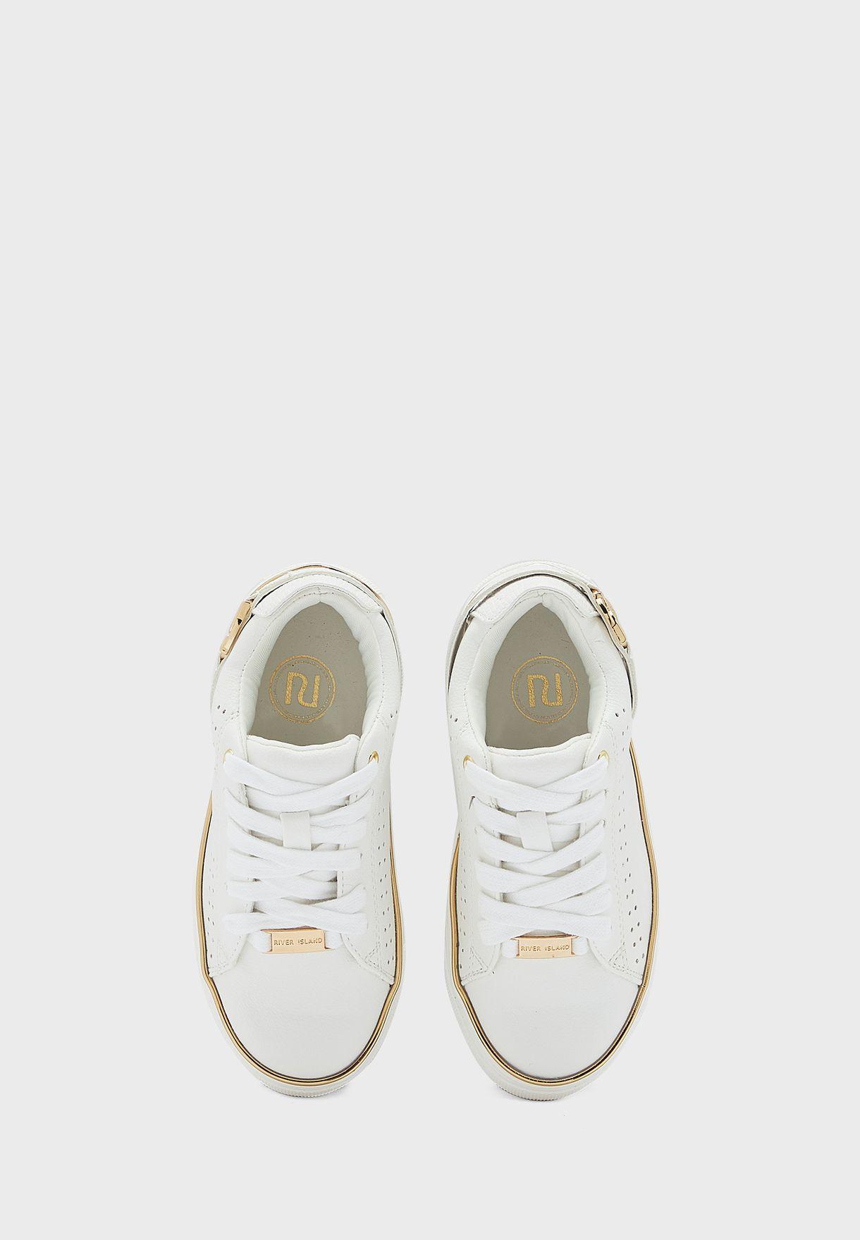Kids Logo Buckle Sneaker