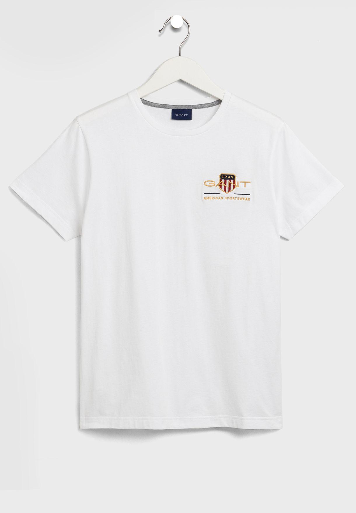Logo Shield Crew Neck T-Shirt