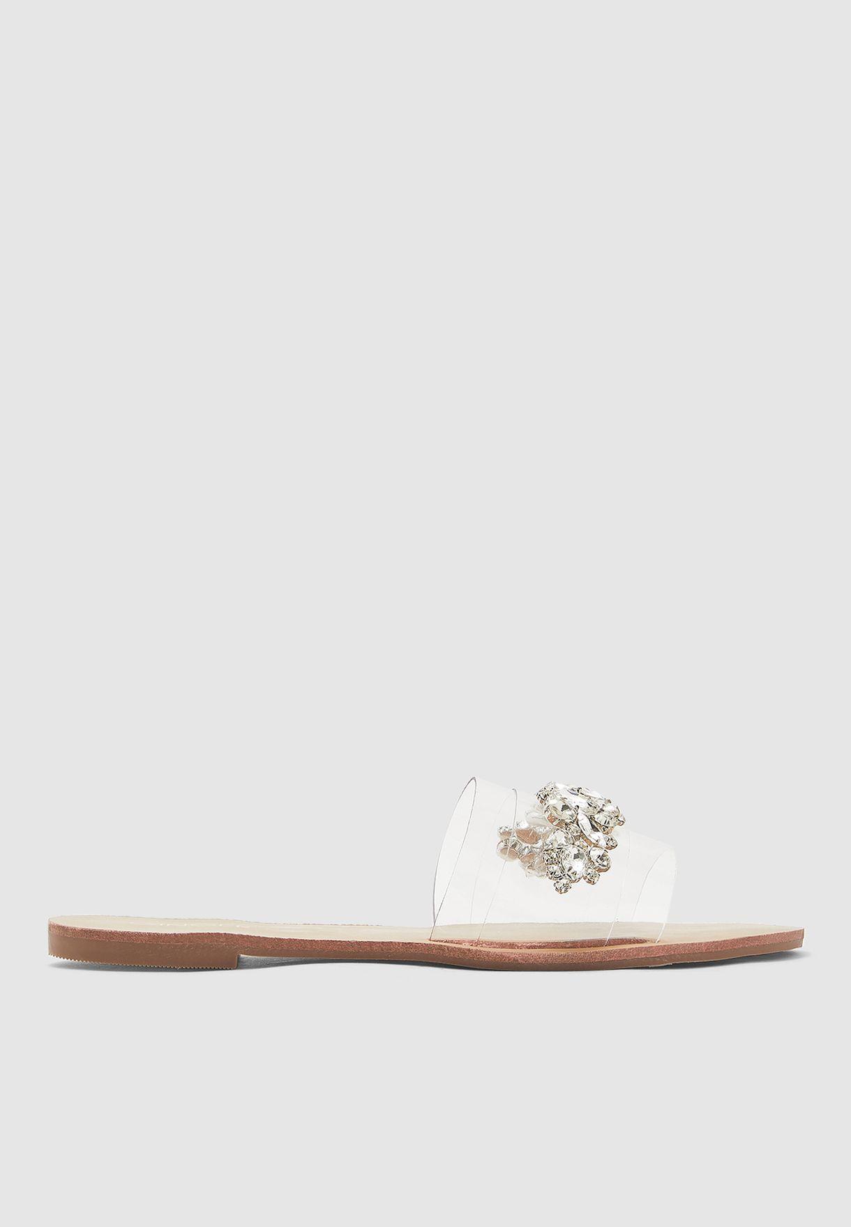 Jewel Detail Sandal