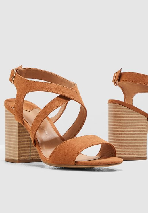 b38d813497f Wide Fit Spye Crossover Sandal. Dorothy Perkins