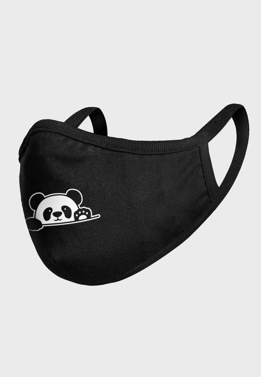 Kids Panda Paw Face Mask