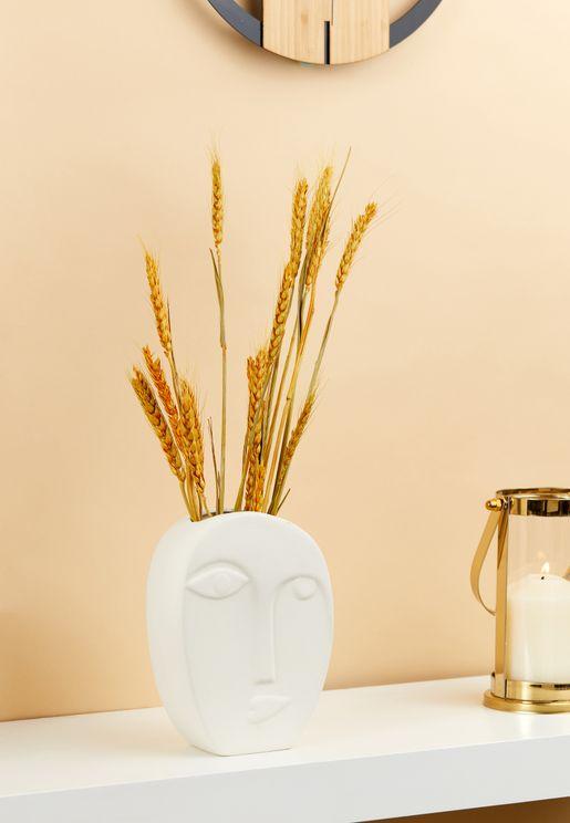 Face Shaped Vase