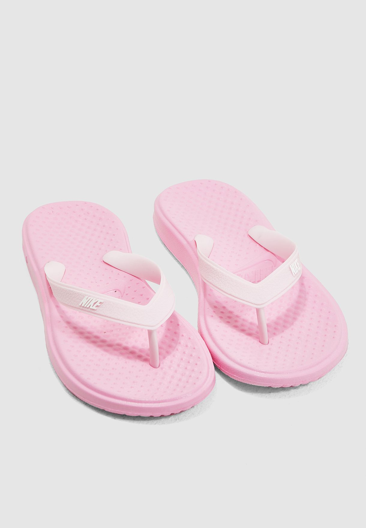 416709fa71ff Shop Nike pink Youth Solay Thong 882827-601 for Kids in Kuwait ...