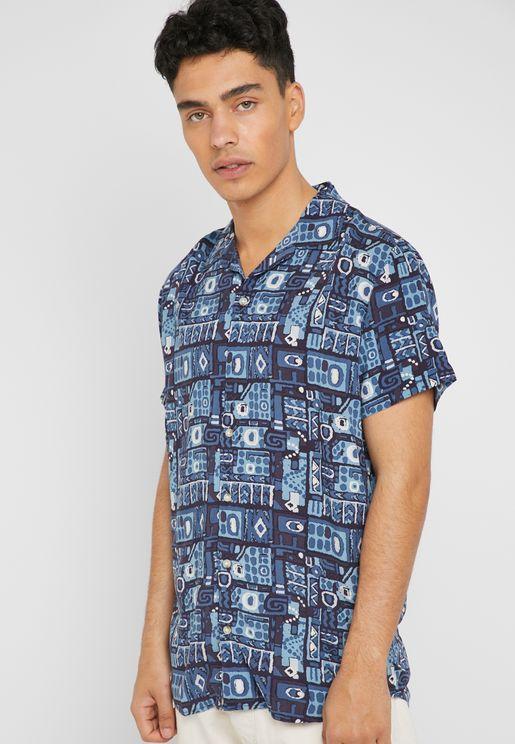Native AOP Resort Shirt