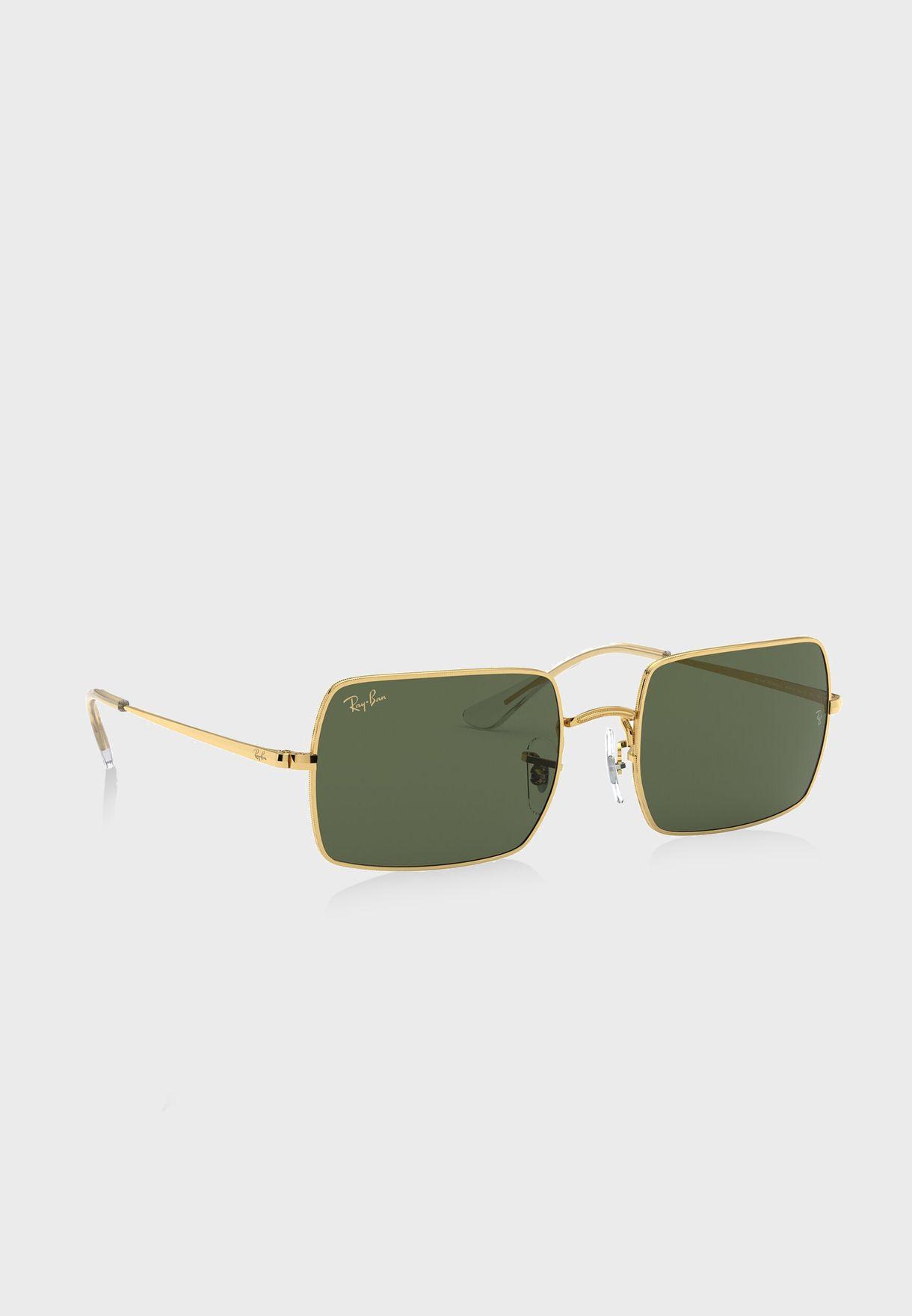 نظارة شمسية مستطيلة
