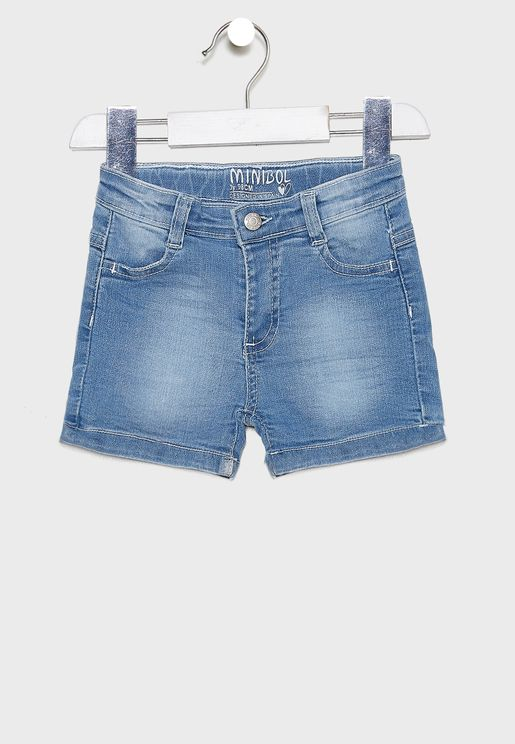 Infant Fold Hem Shorts