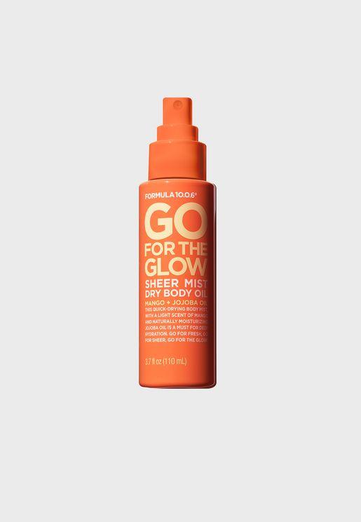 Go For The Glow Sheer Mist Dry Body Oil