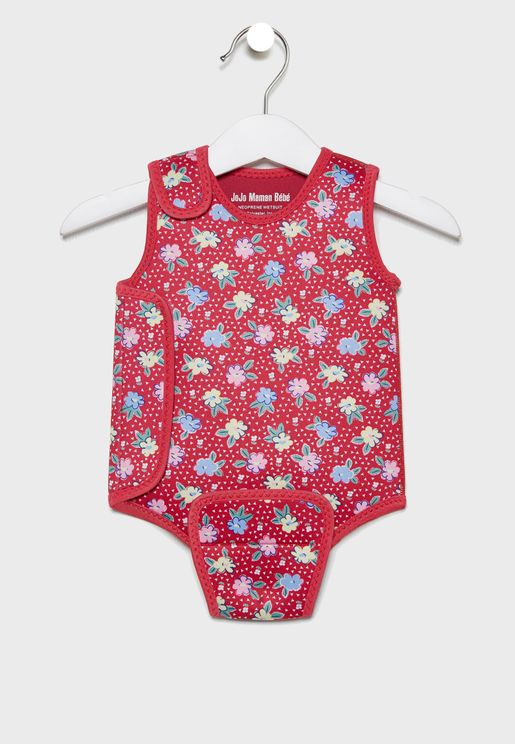 Kids Printed Baby Swimsuit