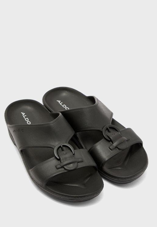 Bamblett Double Strap Buckle Sandals