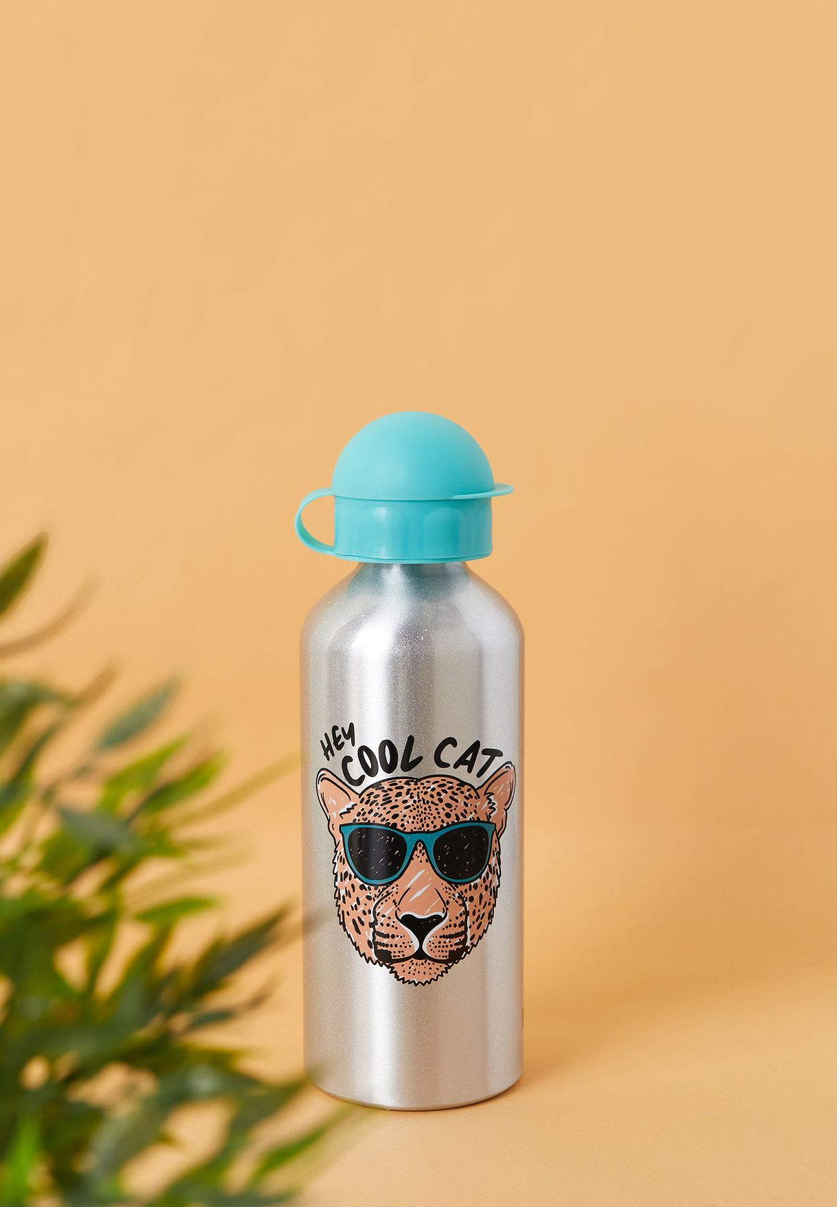 Cool Cat Aluminium Water Bottle