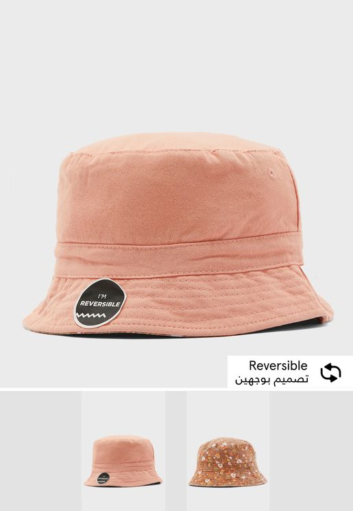 Kids Reversible Bucket Hat