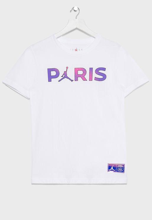 Youth Jordan PSG T-Shirt