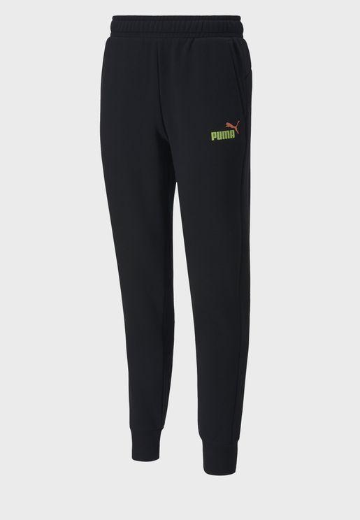 Essential Logo Fleece Sweatpants