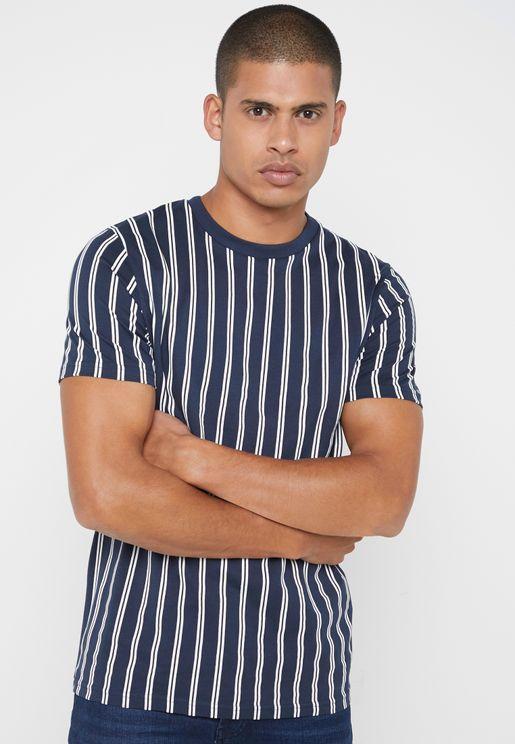 Alvaro Crew Neck T- Shirt