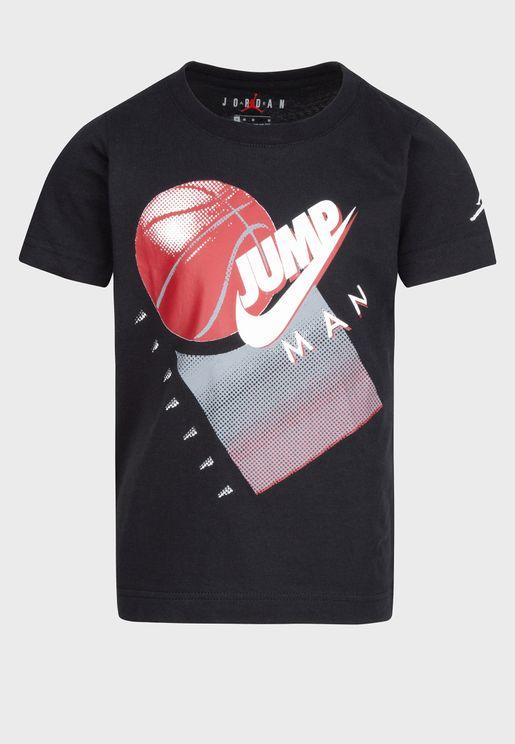 Kids Jordan Graphic T-Shirt