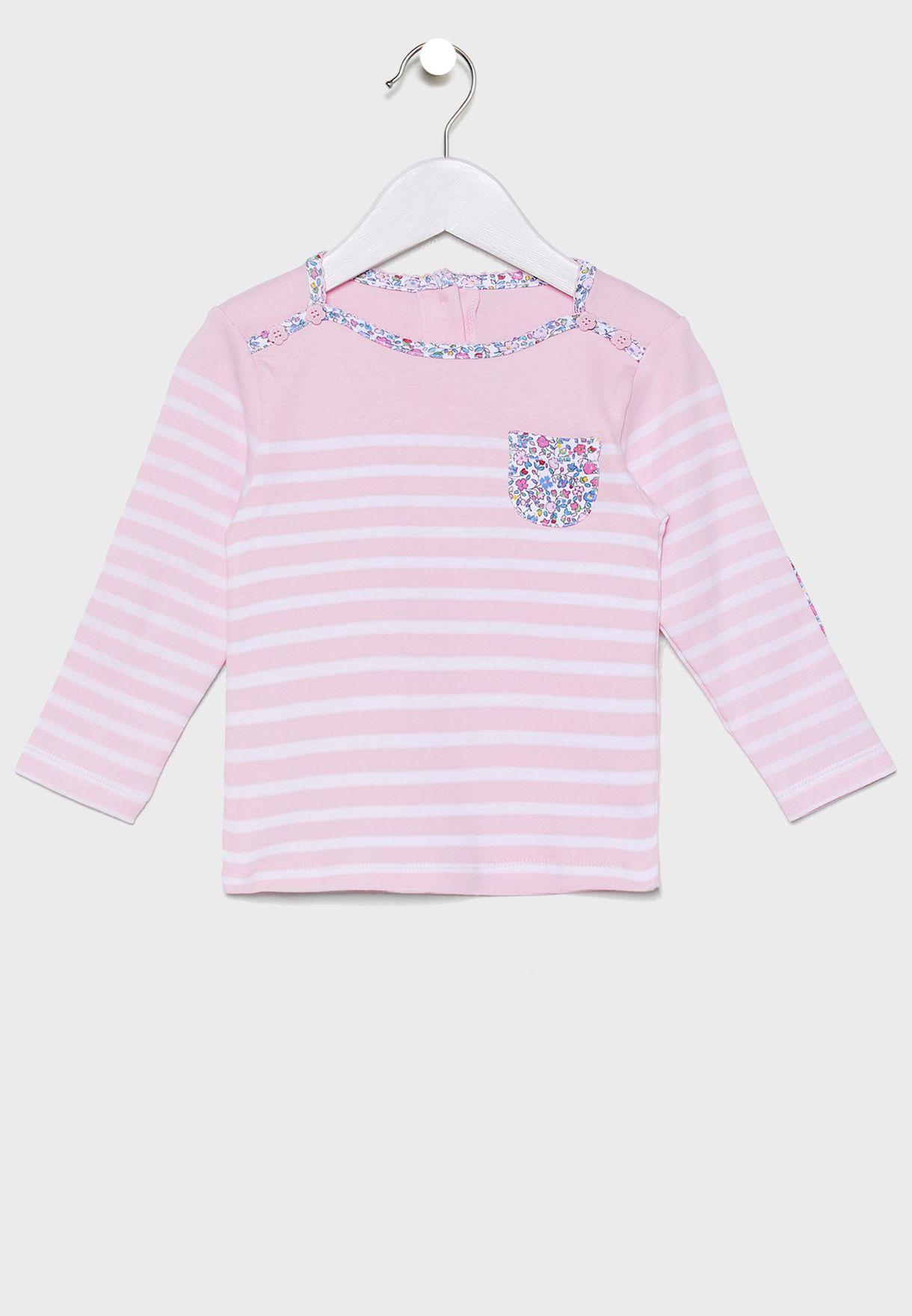 Kids Trim Breton T-Shirt
