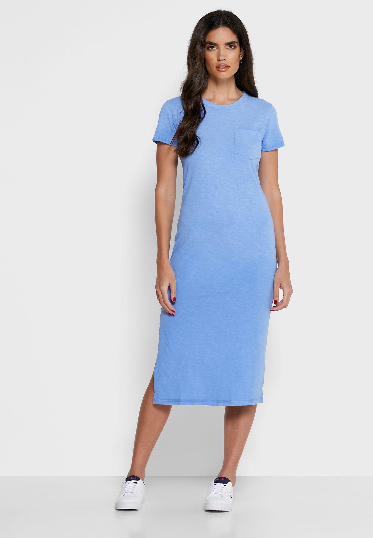 Side Split Bodycon Dress