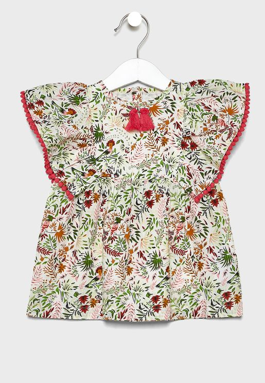 Infant Ruffle Dress