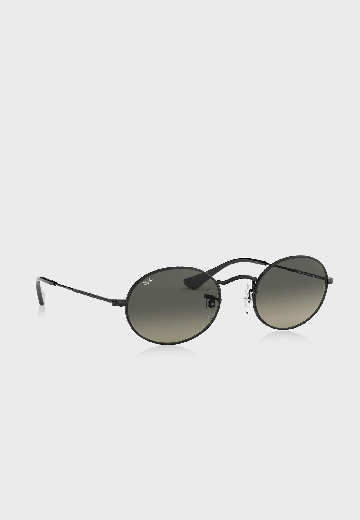 0RB3547N Oval Sunglasses