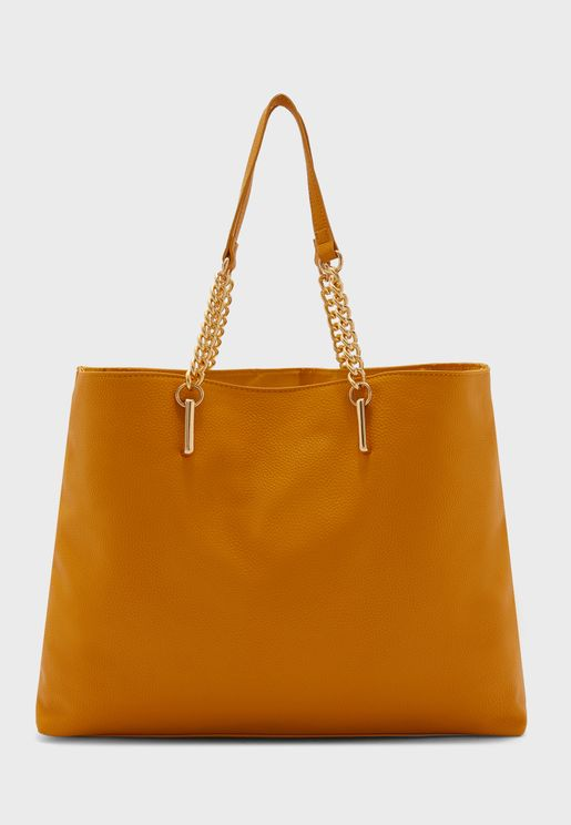 Slouchy Chain Tote