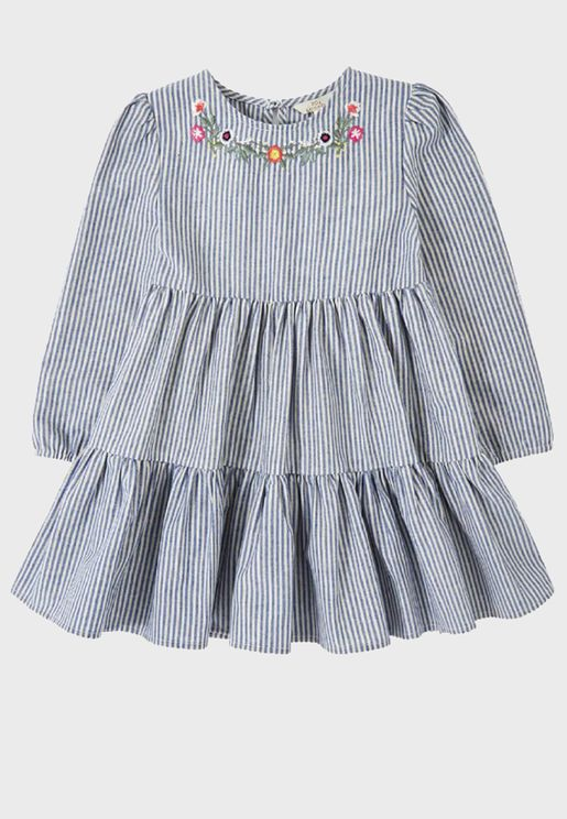 Kids Rita Stripe Dress